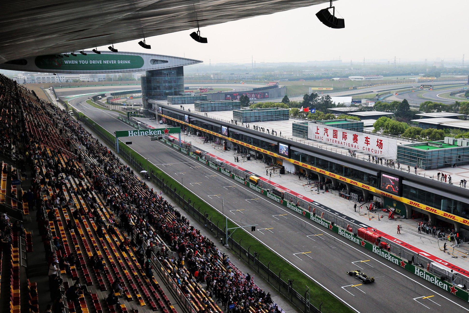 Šanchajaus trasoje vėl organizuojami sporto renginiai