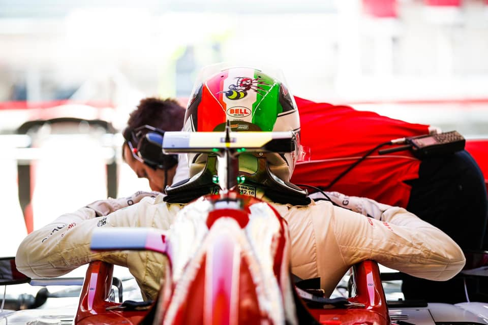 A. Giovinazzi Azerbaidžane bus skirta 10 starto pozicijų bauda