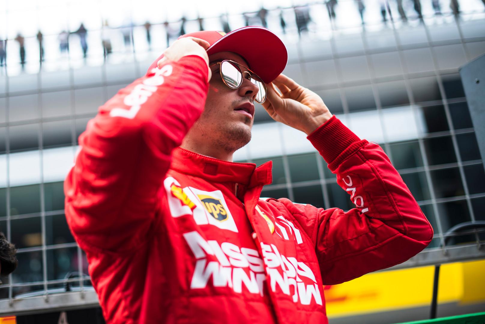"""C. Leclercas """"tam tikrose situacijose"""" vykdys komandos nurodymus"""