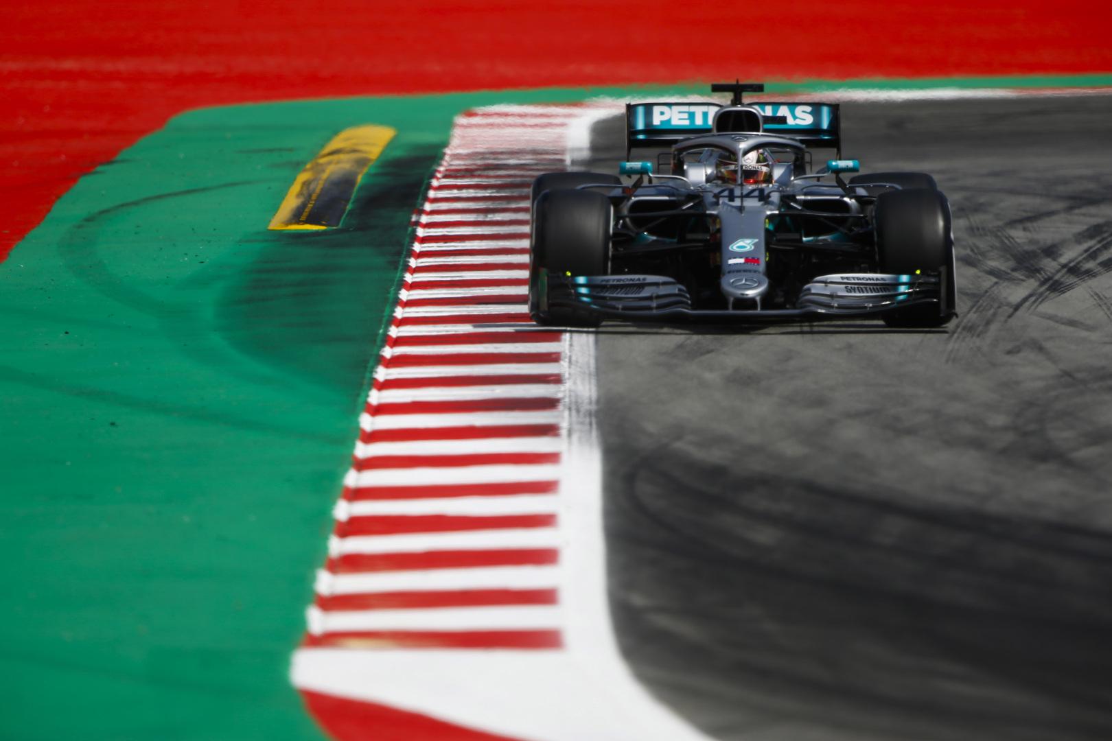 L. Hamiltonas: V. Bottas šiandien buvo tiesiog greitesnis