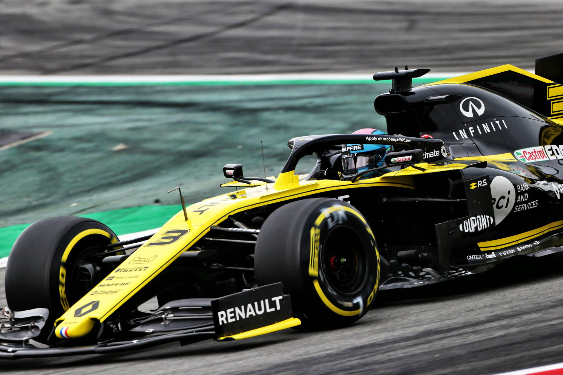 C. Abiteboul: manau, jog D. Ricciardo mums atsilygins už sąžiningumą