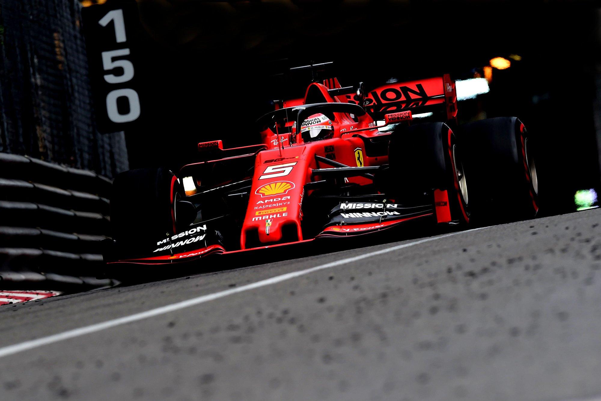 S. Vettelis: su priekinėmis padangomis buvo ypatingai sunku