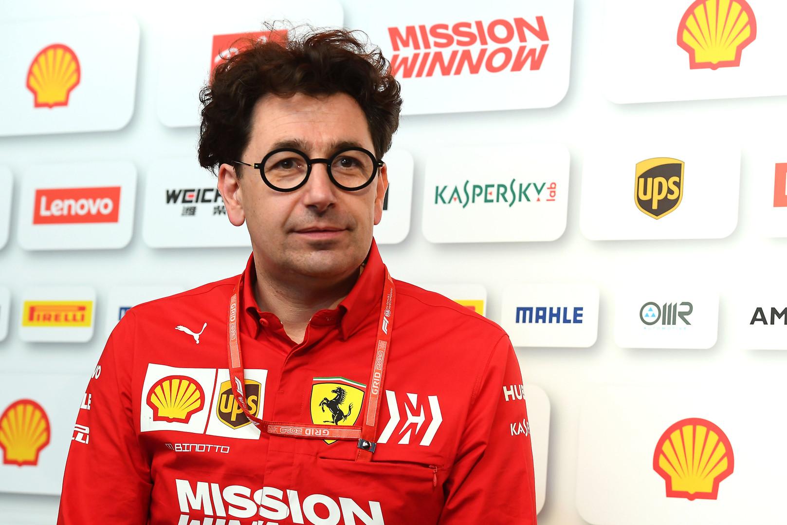 M. Binotto: esu įsitikinęs, jog lenktynių rezultatai bus pakeisti