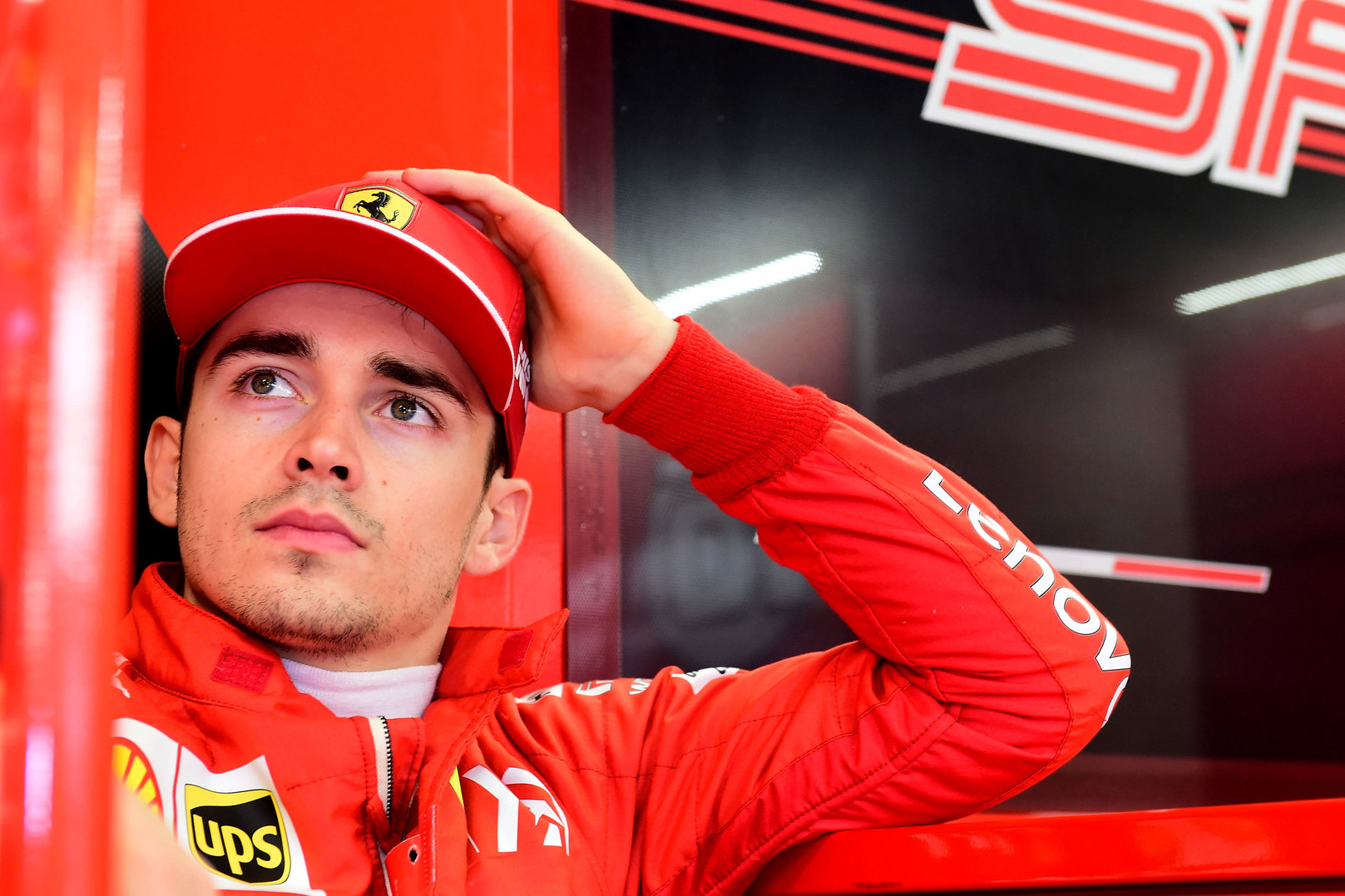 Ch. Leclercas: buvo smagu, bet galiausiai viskas baigėsi nelaime