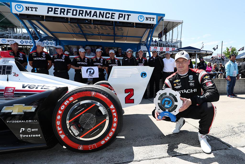"""IndyCar. Antrąsias lenktynes Detroite iš """"pole"""" pozicijos pradės J. Newgardenas"""