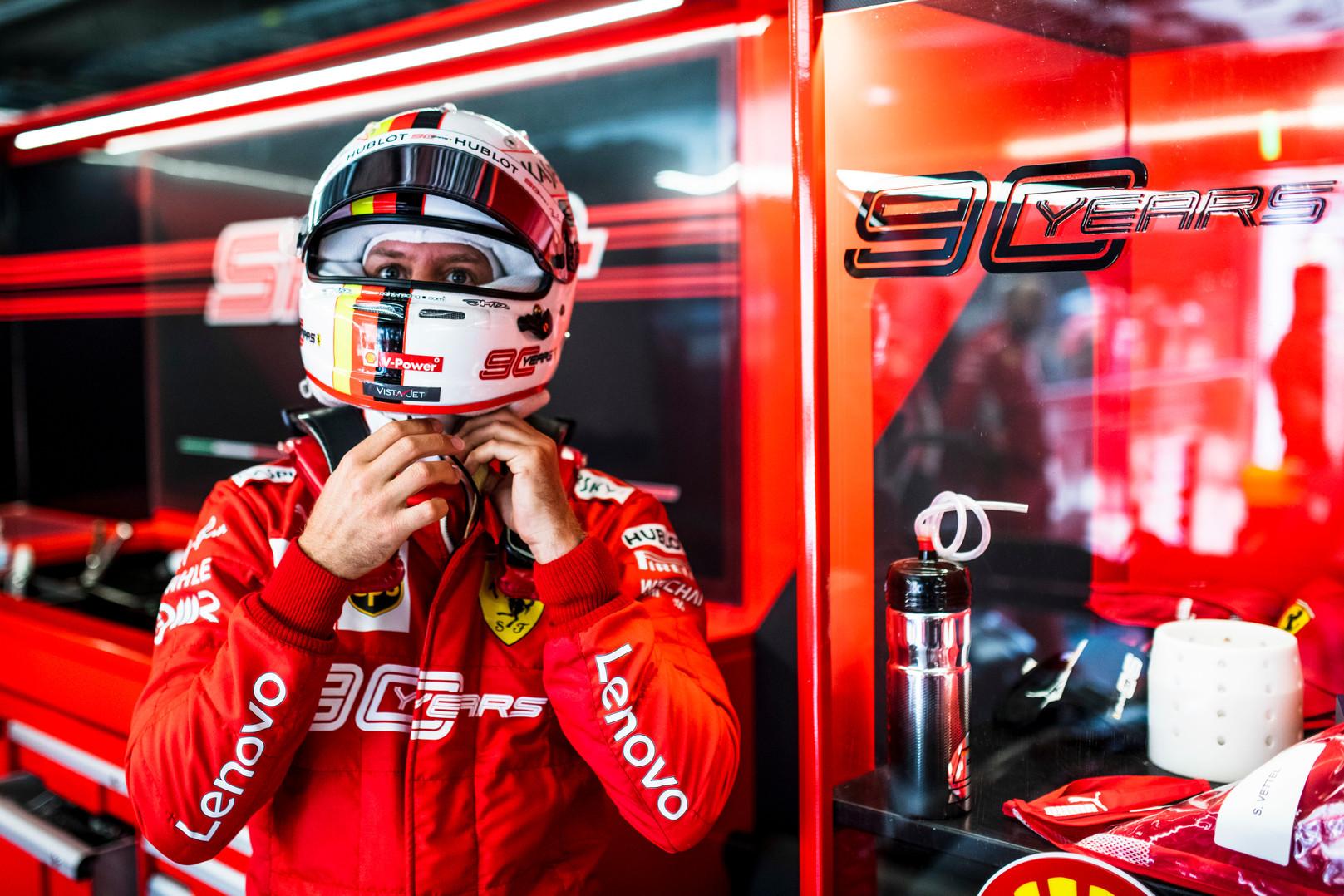 S. Vettelis įsitikinęs: nesame greičiausi