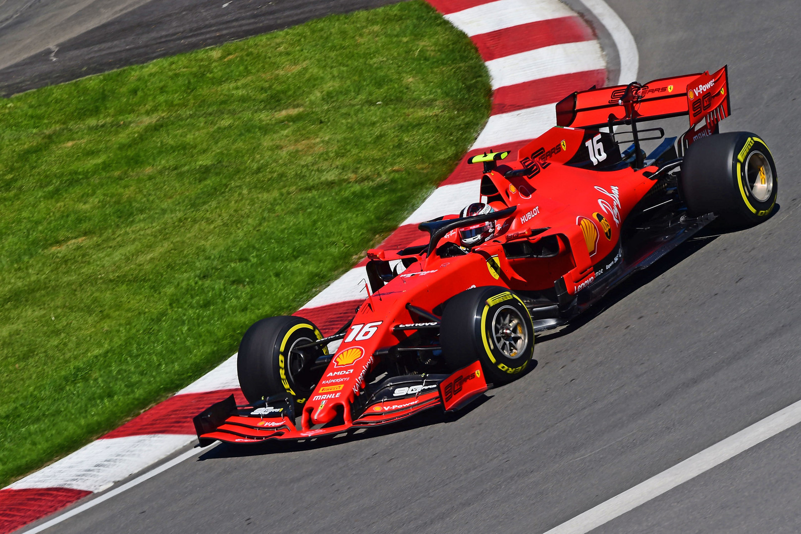 C. Leclercas patenkintas komandos progresu