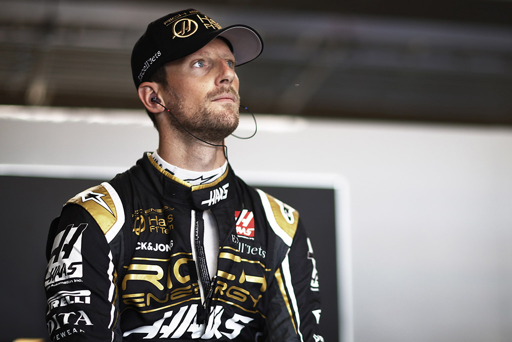 """""""Haas"""" neigia gandus, kad R. Grosjeanas artimiausiu metu bus pakeistas"""