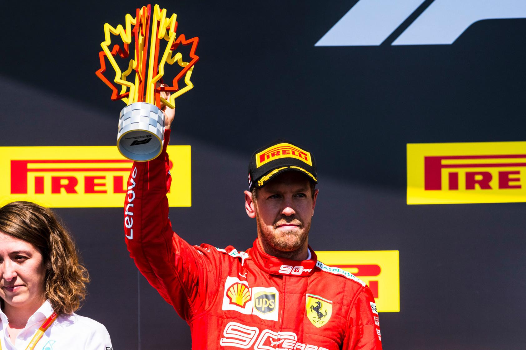 S. Vettelis paaiškino, kodėl Kanadoje sutiko užlipti ant apdovanojimų pakylos