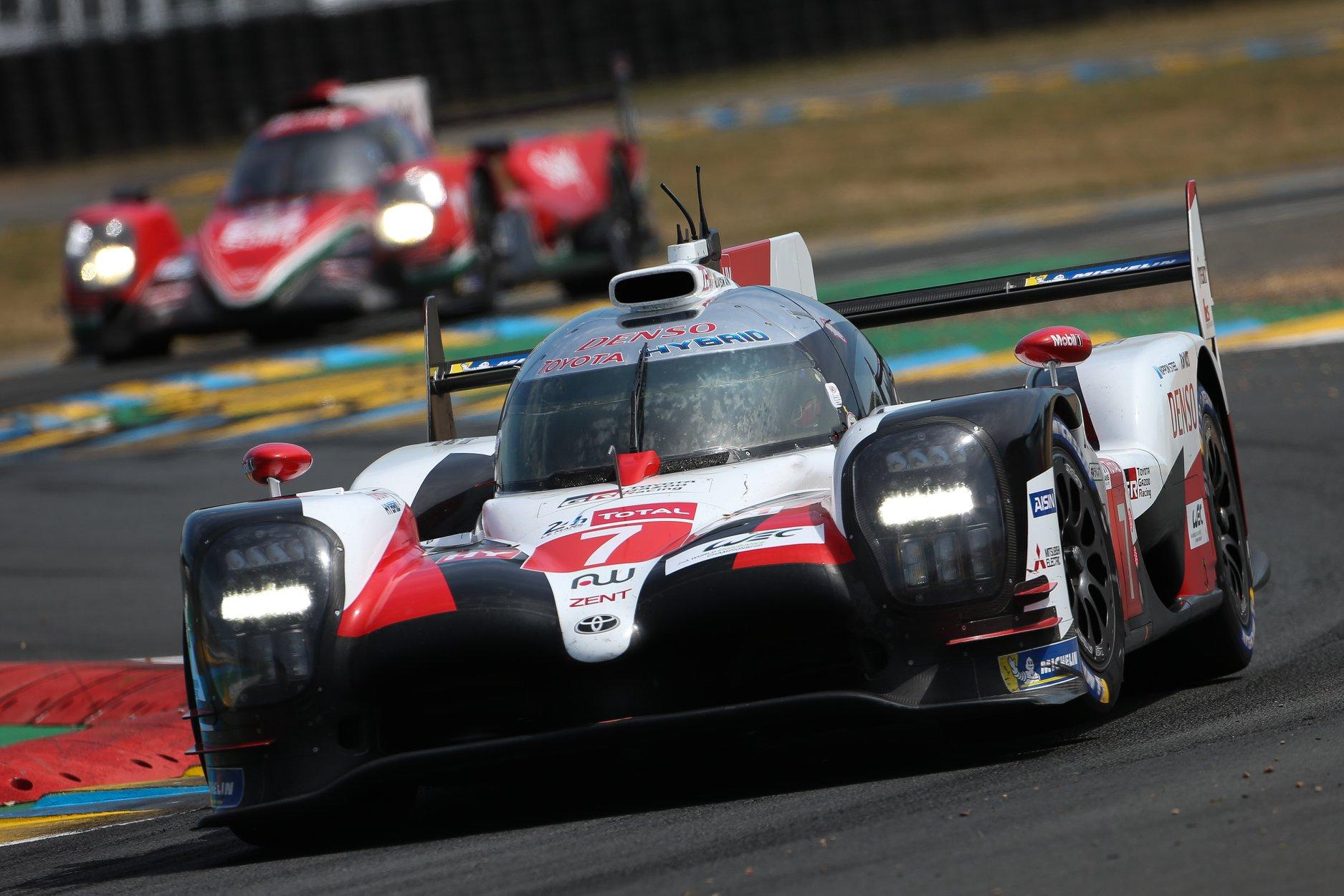 """WEC. Paskutines sezono lenktynes Le Mane iš """"pole"""" pradės """"Toyota"""" sportininkai"""