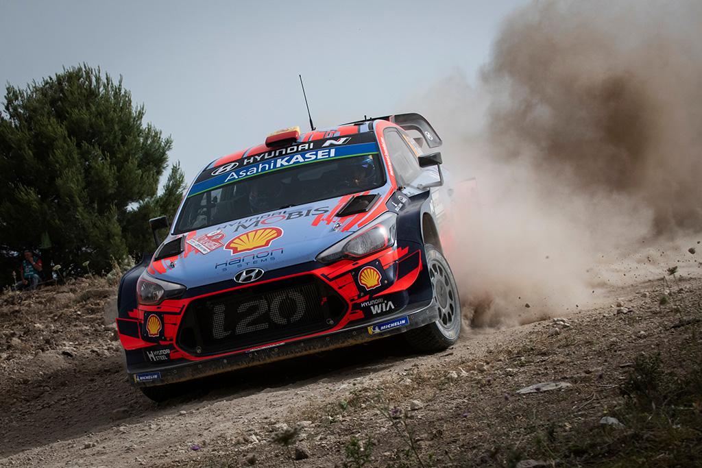 WRC. Sardinijos ralio lyderiu tapo D. Sordo