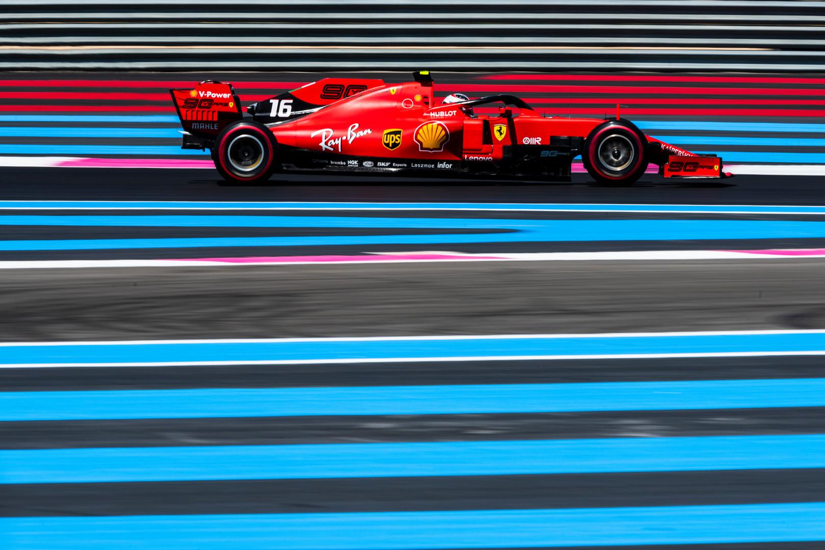 C. Leclercas kvalifikacijoje prašė, kad S. Vettelis važiuotų greičiau