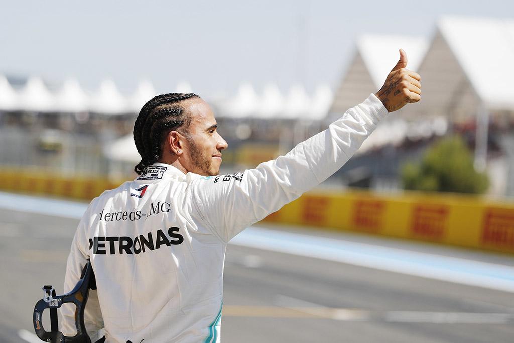 L. Hamiltonas baiminosi nesėkmės lenktynių pabaigoje
