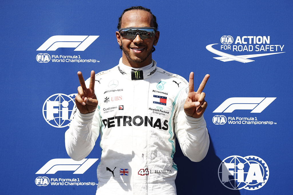 """Rekordą pagerinęs L. Hamiltonas Prancūzijoje iškovojo """"pole"""" poziciją"""