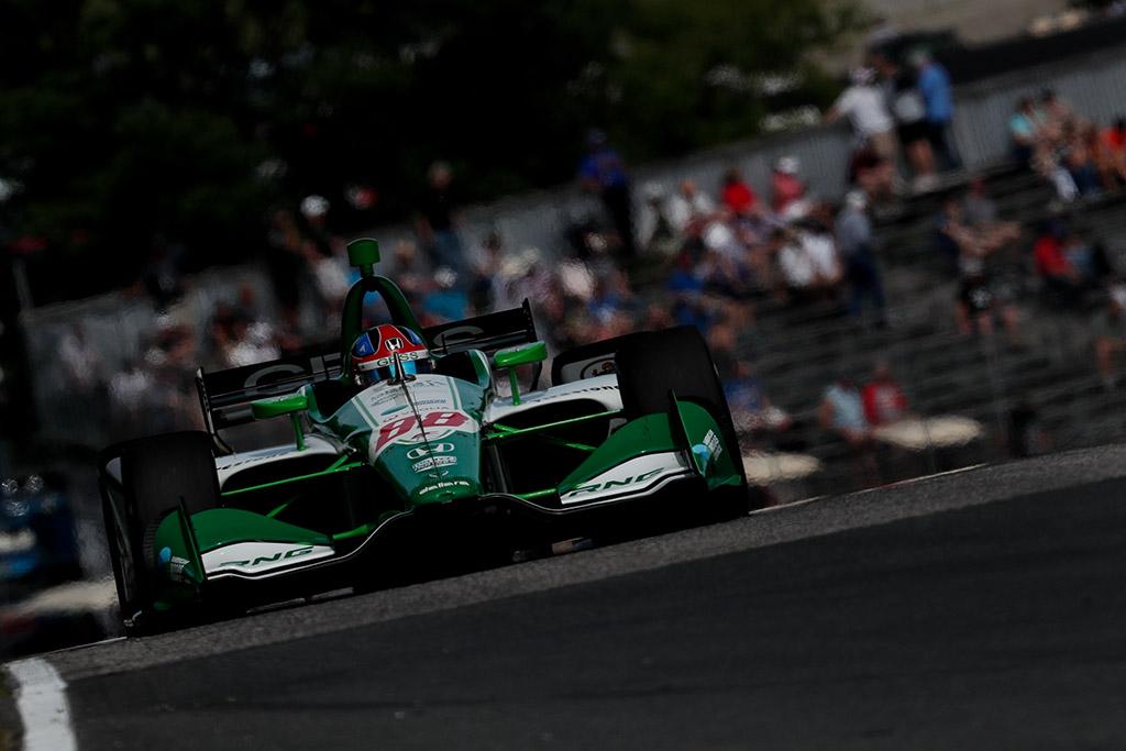 """IndyCar. """"Road America"""" trasoje """"pole"""" iškovojo čempionato naujokas"""