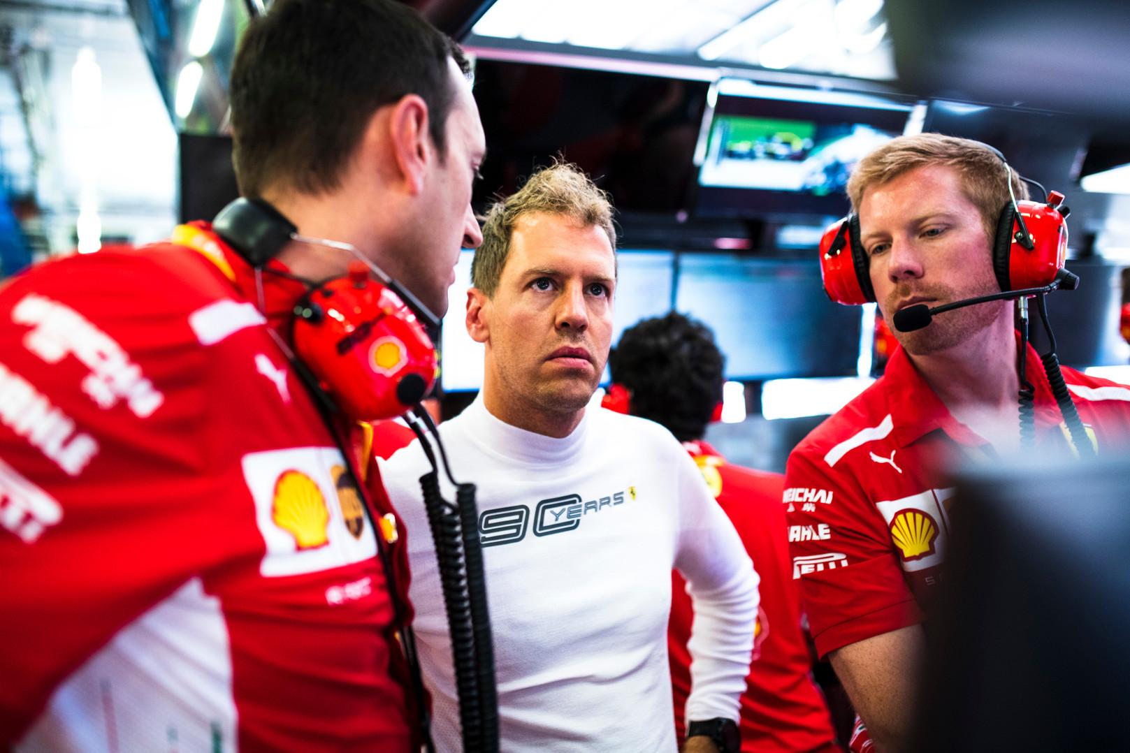 S. Vettelis: dėl įvykio niekas nekaltas