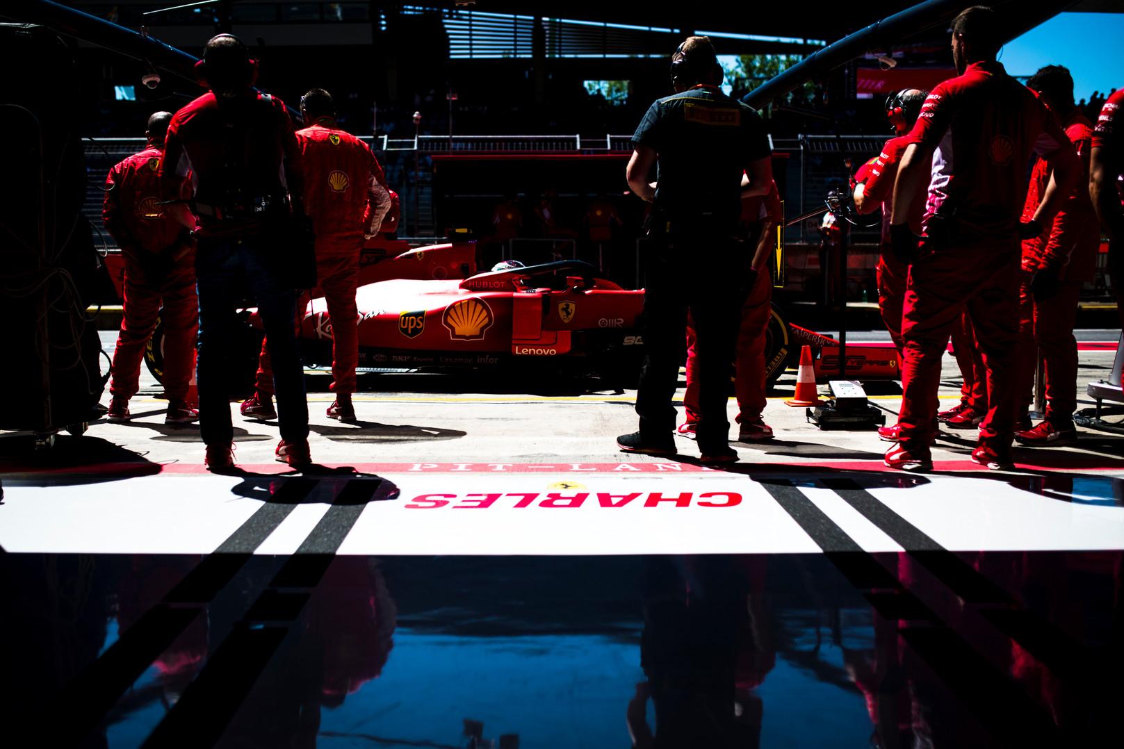 Austrijos GP: šeštadienio treniruotė