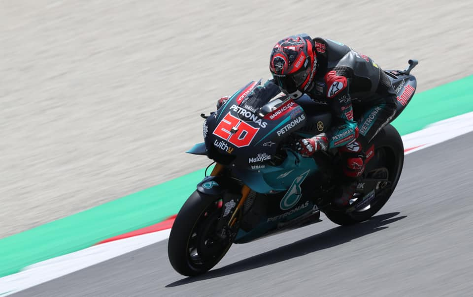 "MotoGP.  Assene - antroji iš eilės F. Quartararo ""pole"""