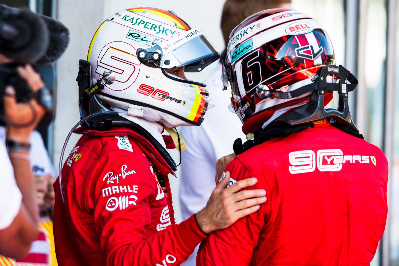 C. Leclercas abejoja, kad S. Vettelis artimiausioje ateityje baigs karjerą