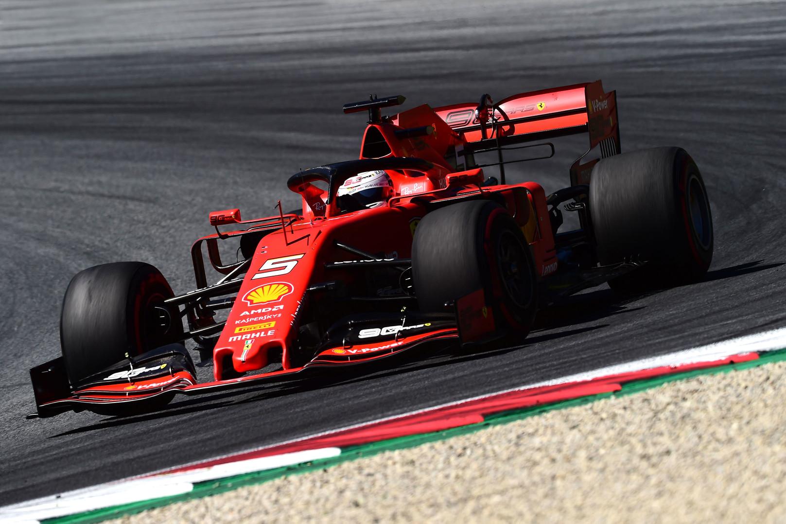 Vokietijos GP: penktadienio treniruotė Nr.1