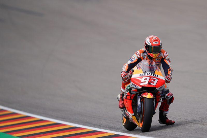 MotoGP. Vokietijoje septintus metus iš eilės greičiausias M. Marquezas