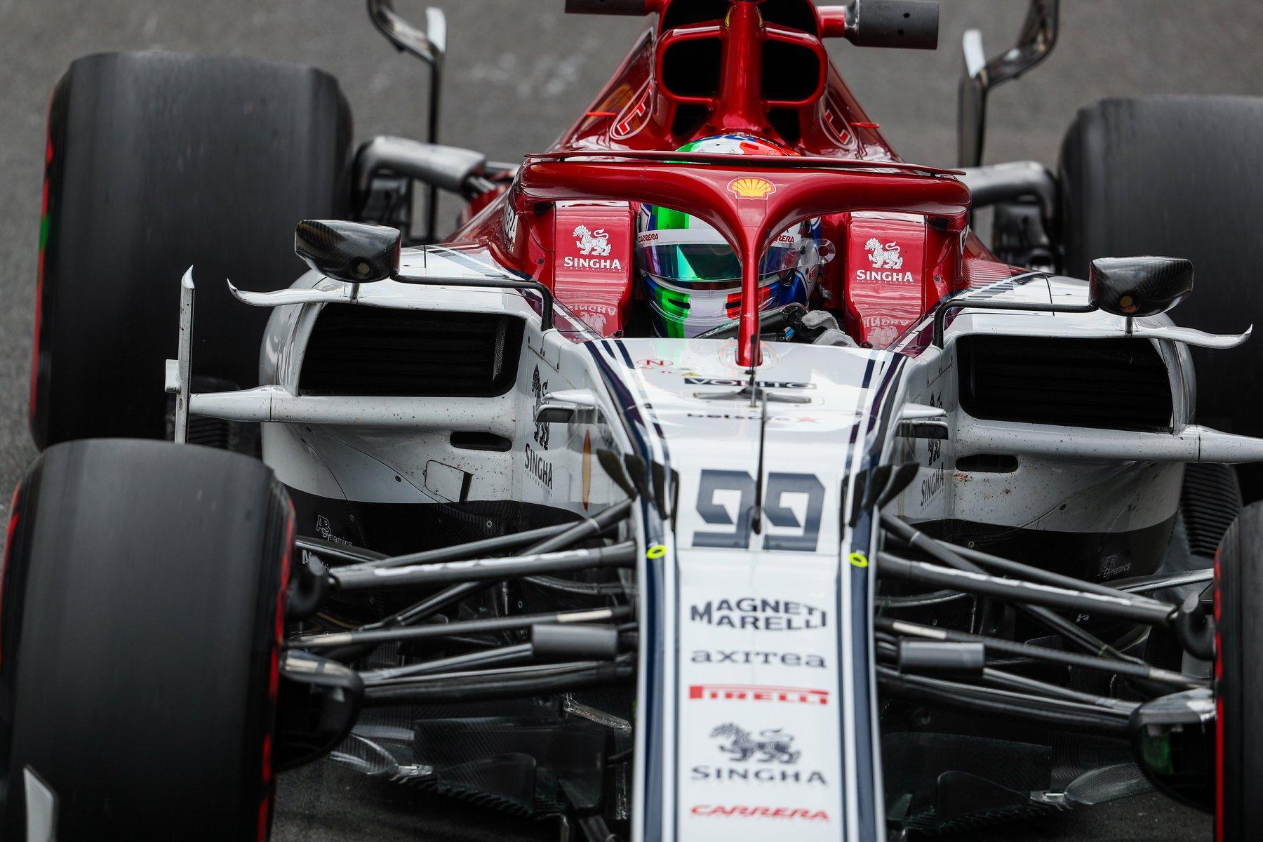 "A. Giovinazzi: Sugrįžti į ""Formulę-1"" buvo nepaprasta"