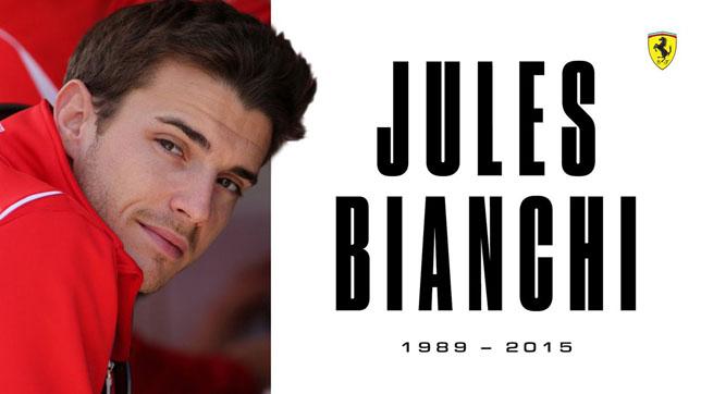 """""""Formulė-1"""" prisimena Jules Bianchi"""
