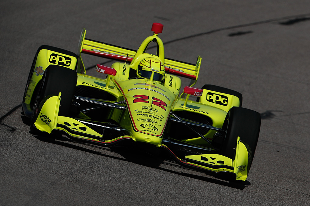 "IndyCar. Ajovoje ""pole"" poziciją iškovojo S. Pagenaud"
