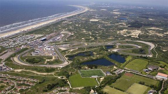 Zandvoorte išsaugos žvyruotas saugumo zonas
