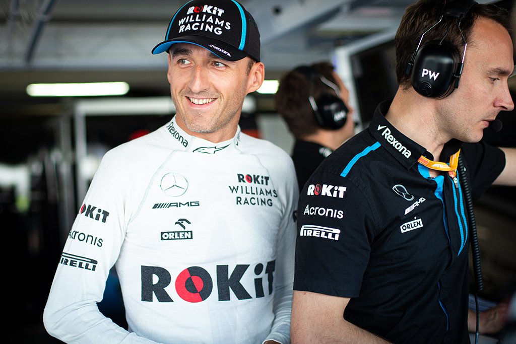 """R. Kubica po sezono paliks """"Williams"""" komandą"""