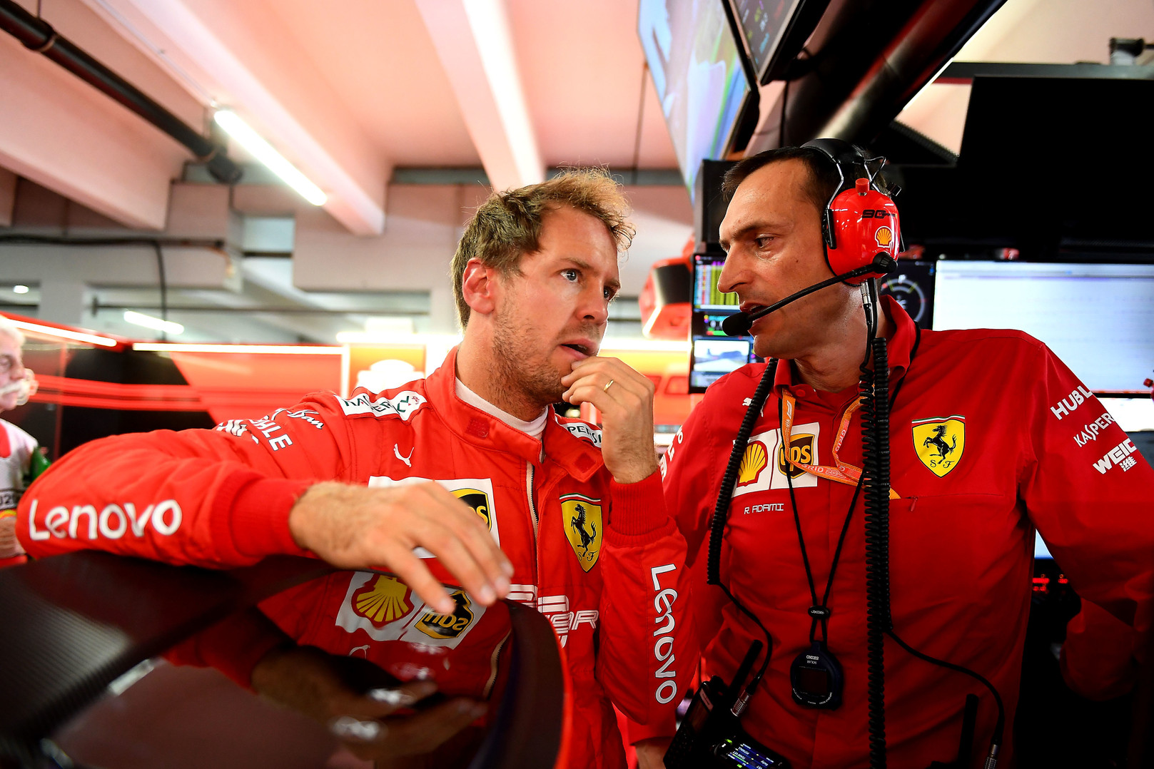 S. Vettelis tikisi sėkmingesnio komandos pasirodymo Belgijoje ir Italijoje