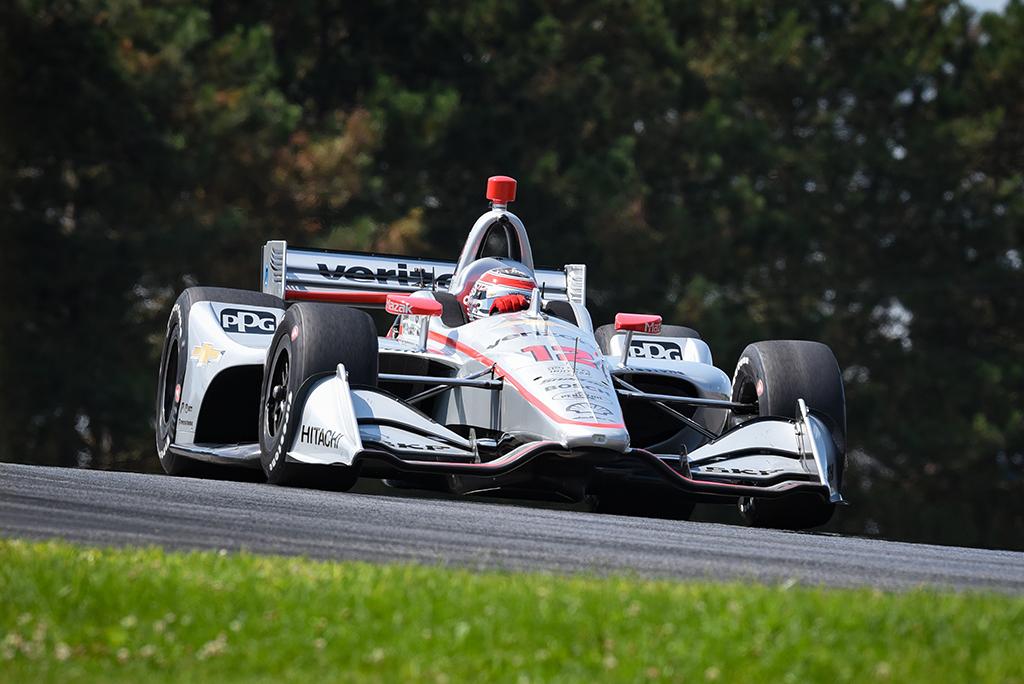 IndyCar. Mid-Ohajaus trasoje greičiausias W. Poweris