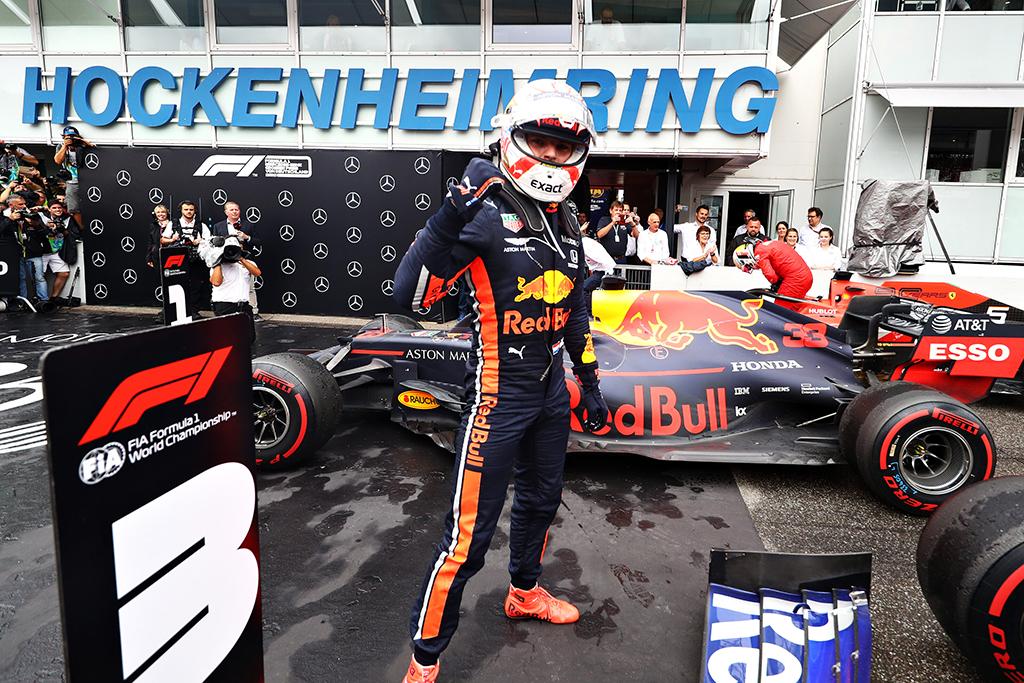M. Verstappenas: pergalė Vokietijoje situacijos čempionate nekeičia