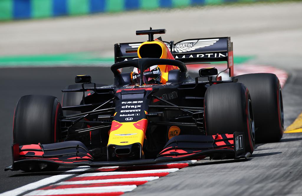 M. Verstappenas: mums tai buvo gana geras savaitgalis