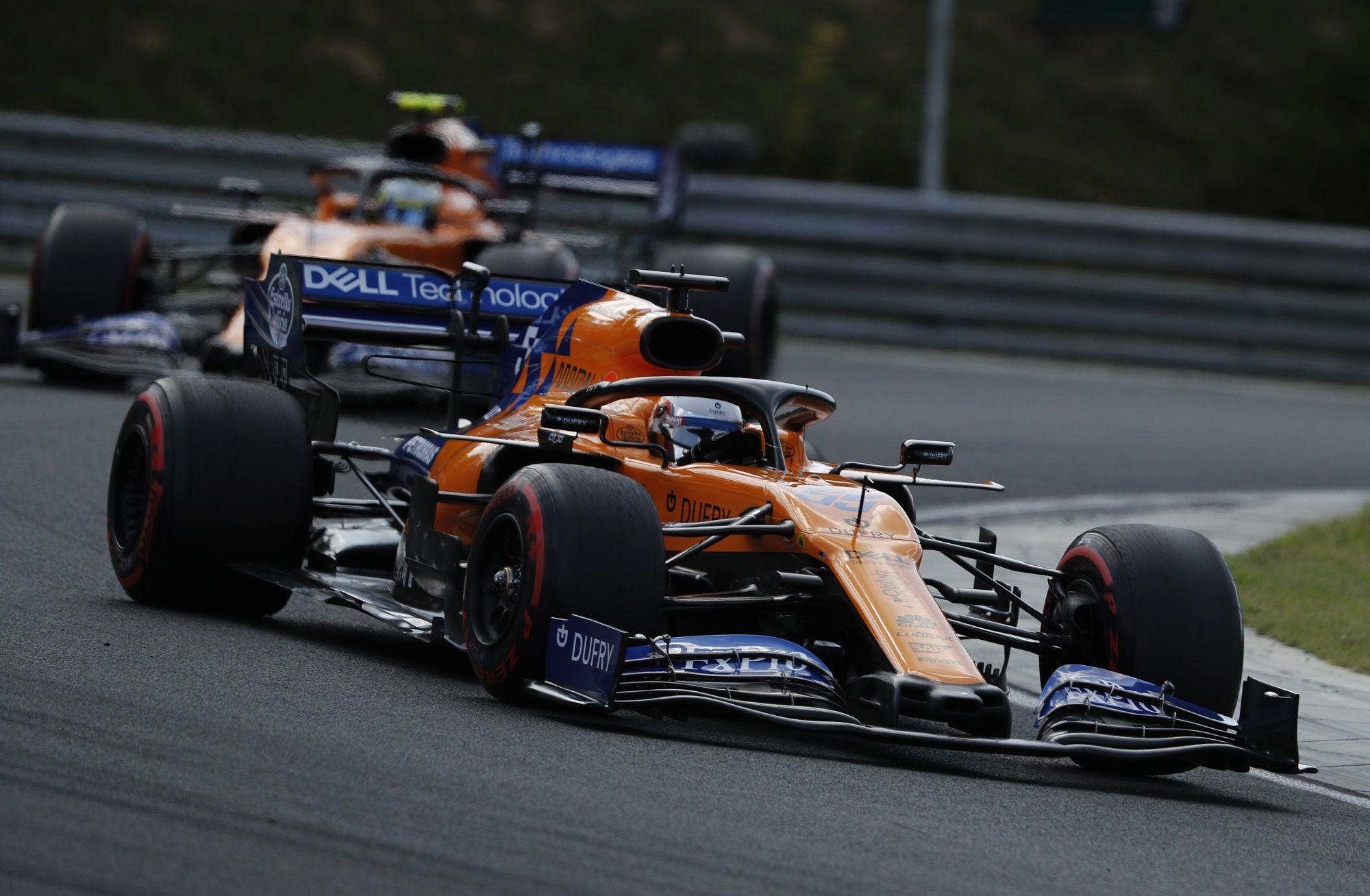 """""""McLaren"""" vadovas nesitikėjo tokio sėkmingo komandos pasirodymo Vengrijoje"""
