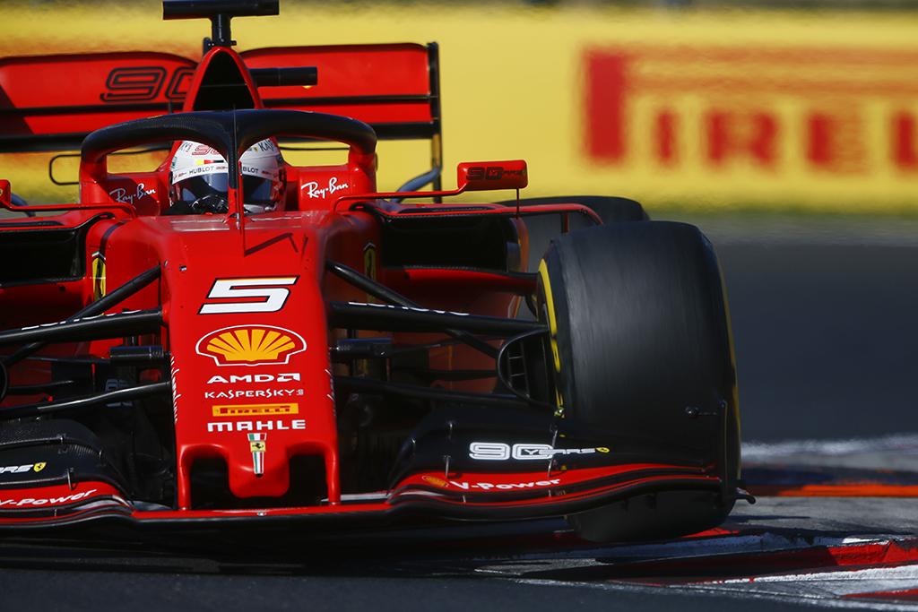 """M. Binotto patvirtino, kad S. Vettelis kitą sezoną liks """"Ferrari"""" gretose"""