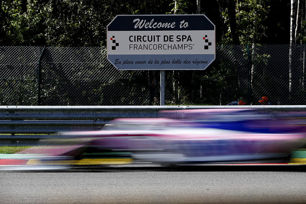 Belgijos GP organizatoriai stabdo bilietų pardavimus