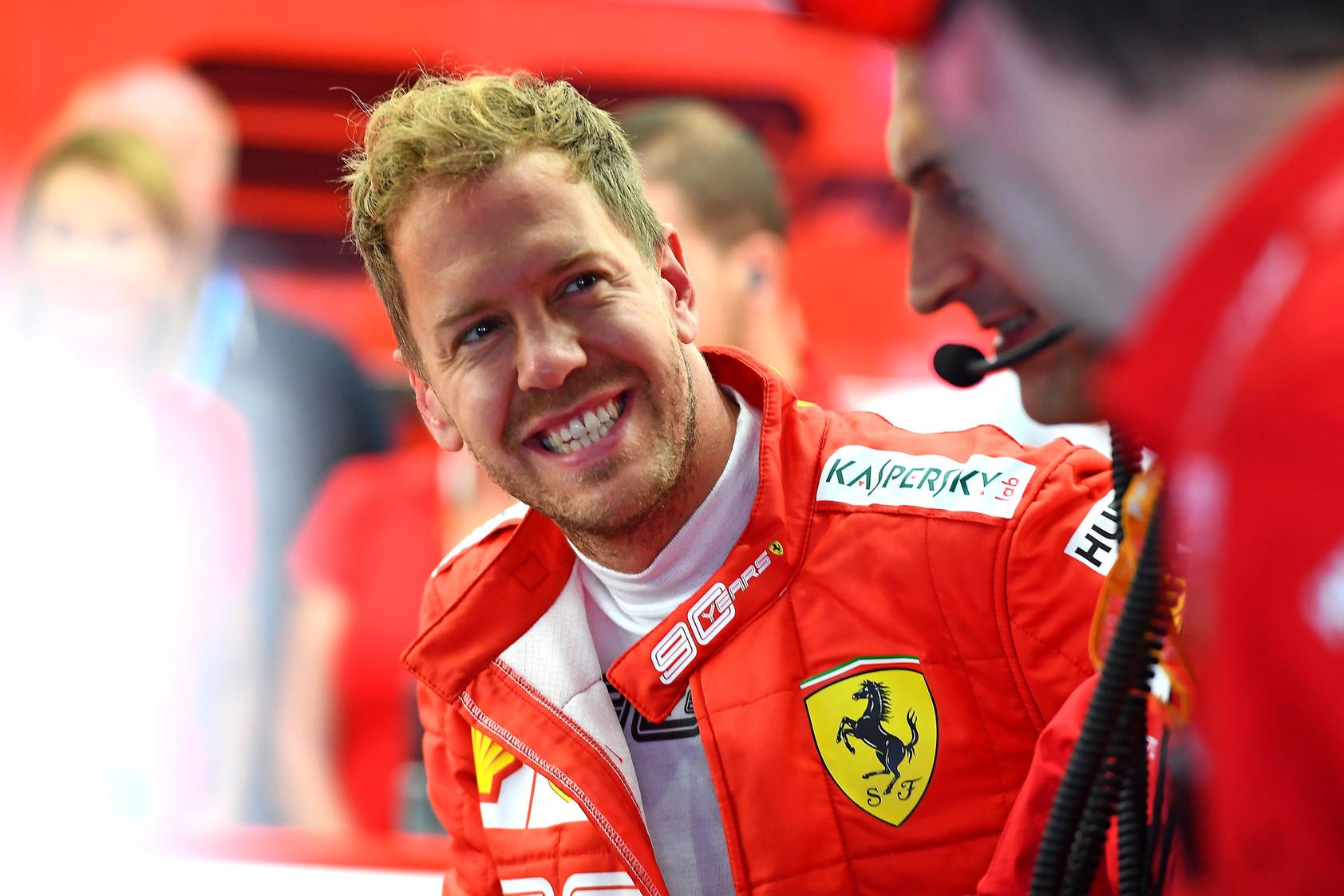 L. di Montezemolo: S. Vettelis nėra pilotas Nr. 2
