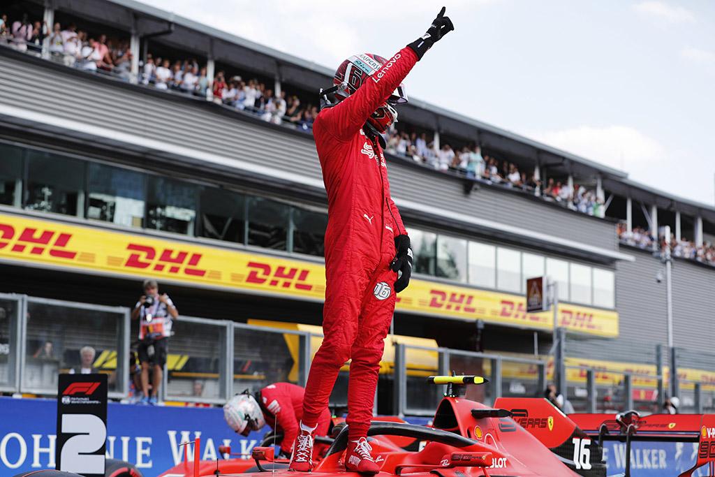 N. Rosbergas: į Monzą C. Leclercas atvažiuoja favoritu