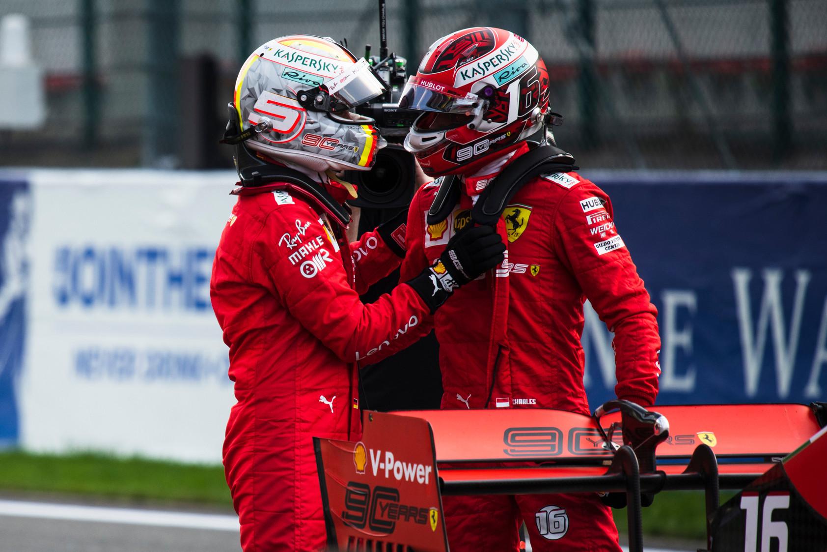 S. Vettelis: džiaugiuosi dėl komandos, bet ne dėl savęs