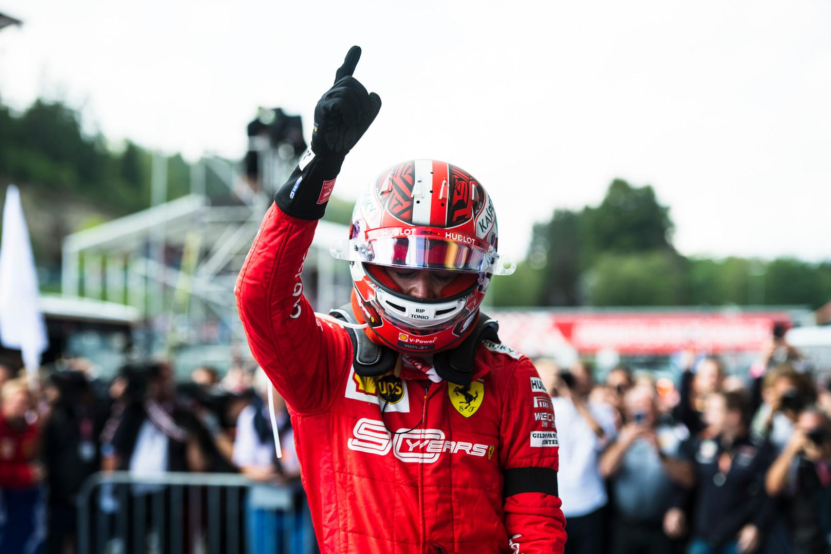 C. Leclercas: sunku džiaugtis pirmąja pergale