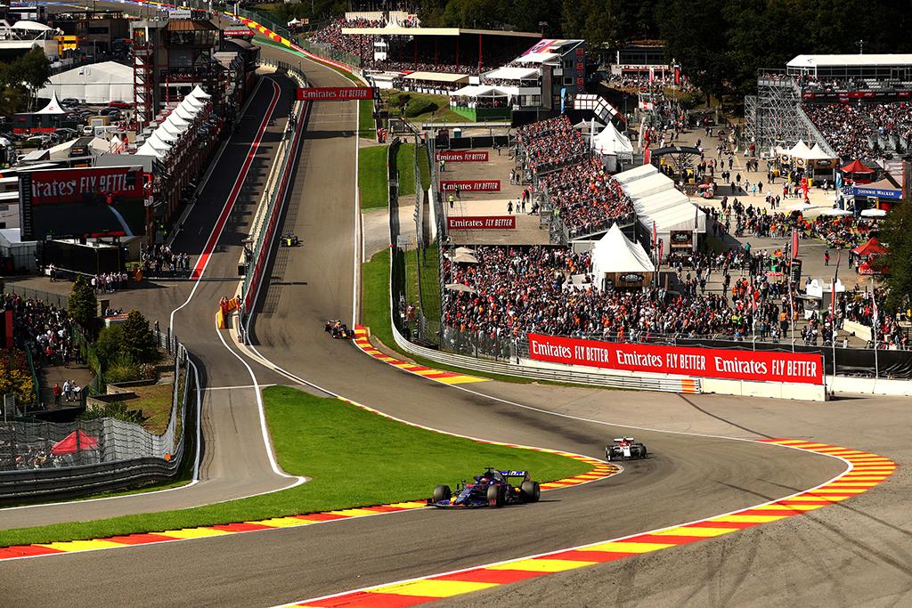 Belgams leista organizuoti F-1 lenktynes be žiūrovų