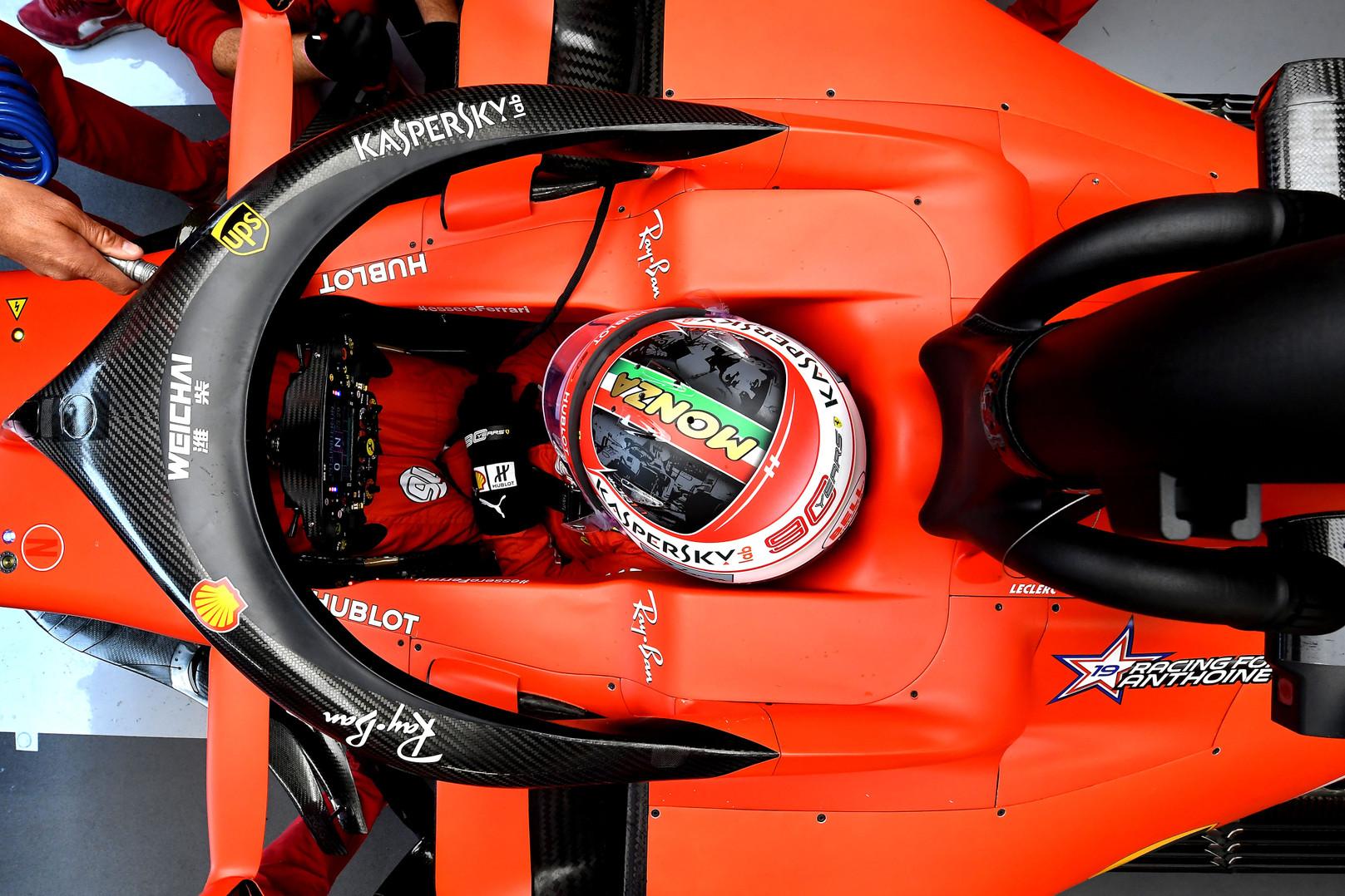 Italijos GP: kvalifikacija (tiesiogiai)