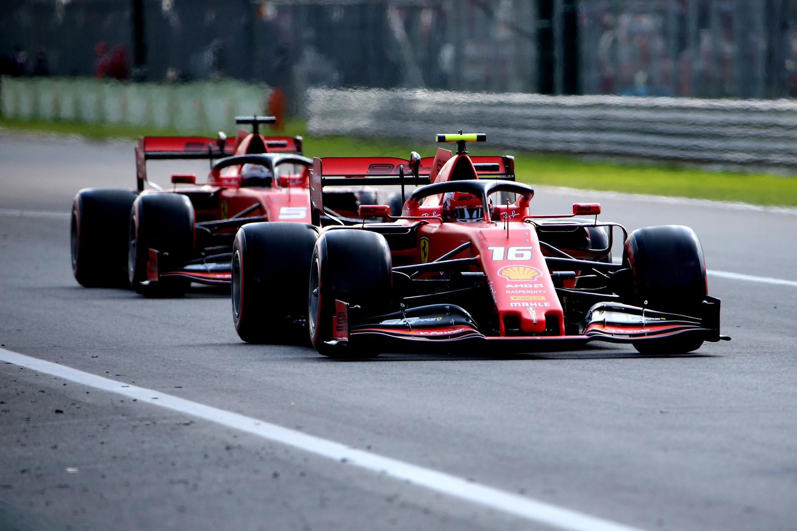 C. Leclercas: su S. Vettelio pagalba būtų buvę lengviau