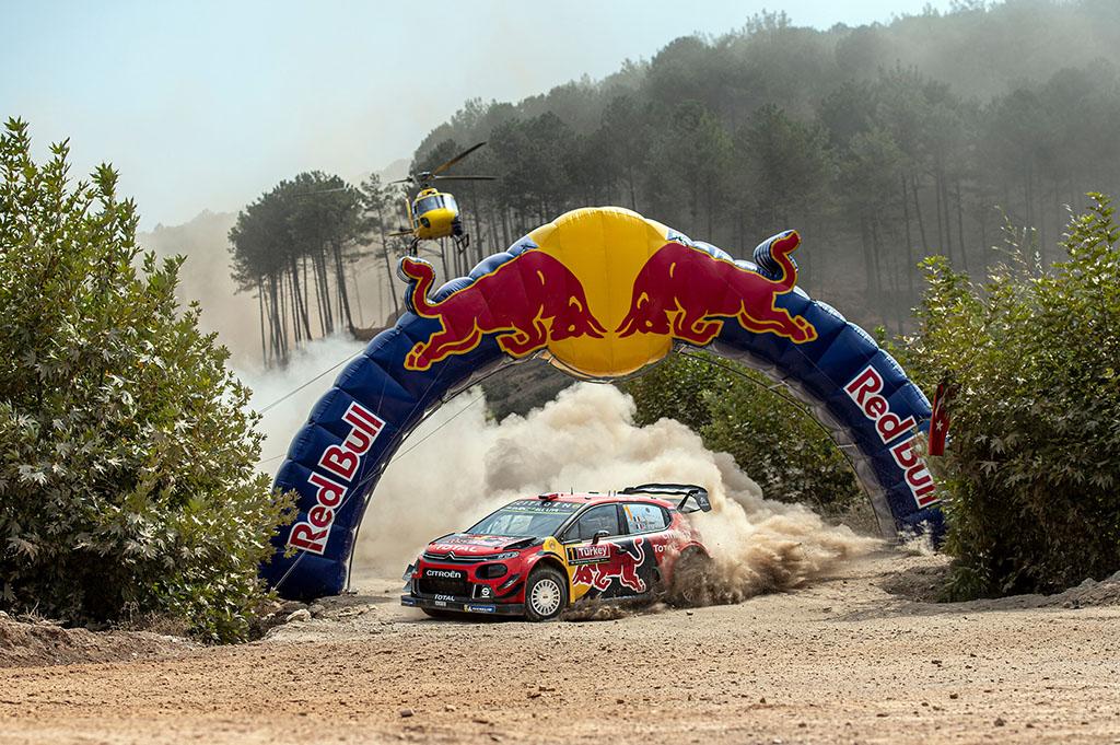WRC. Turkijos ralyje į pirmą poziciją pakilo S. Ogier
