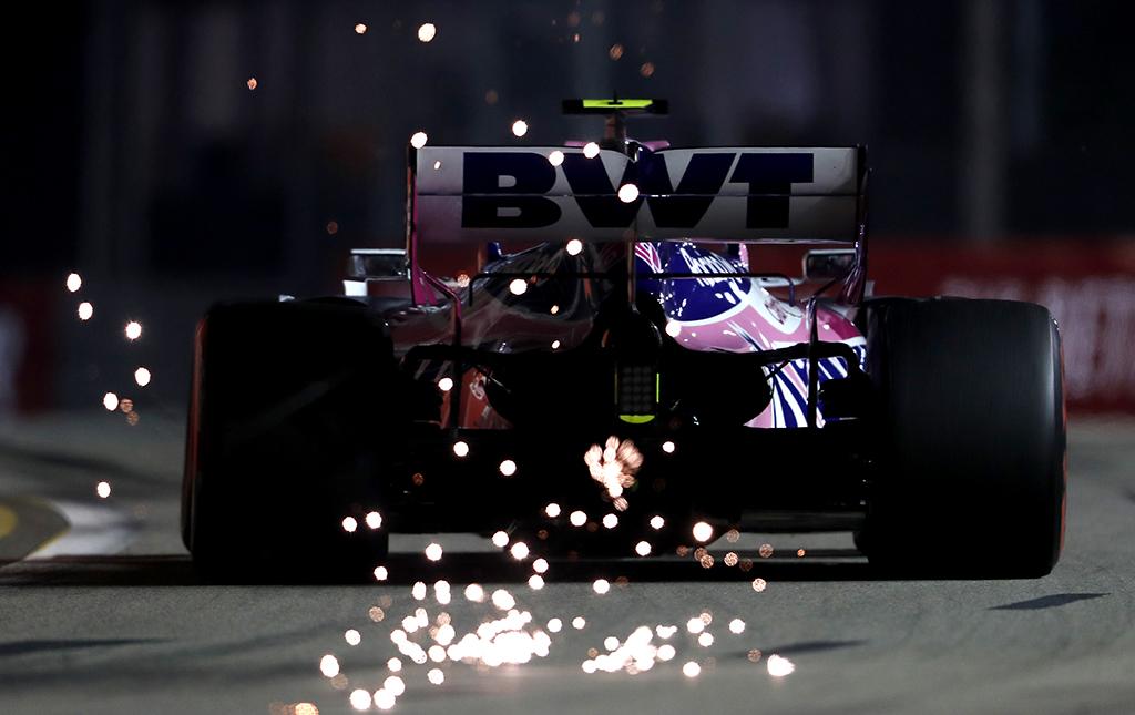 """Sezono rezultatai: """"Racing Point F1 Team"""""""