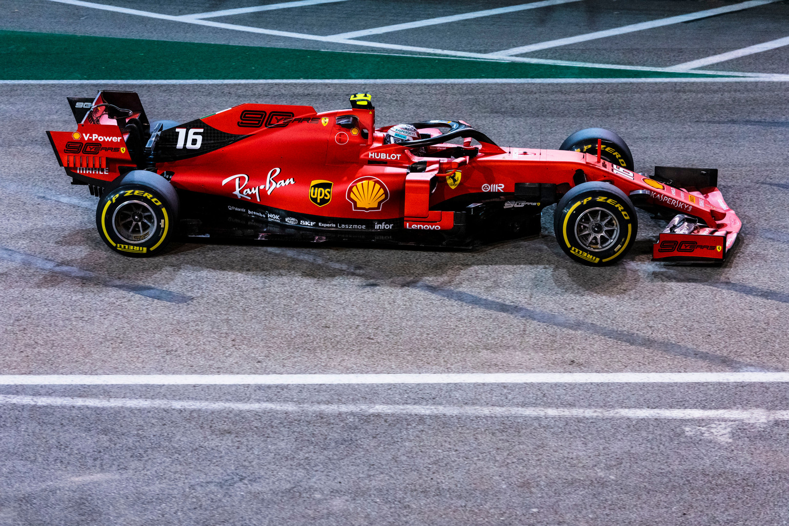 "Singapūre - trečioji iš eilės C. Leclerco ""pole"""