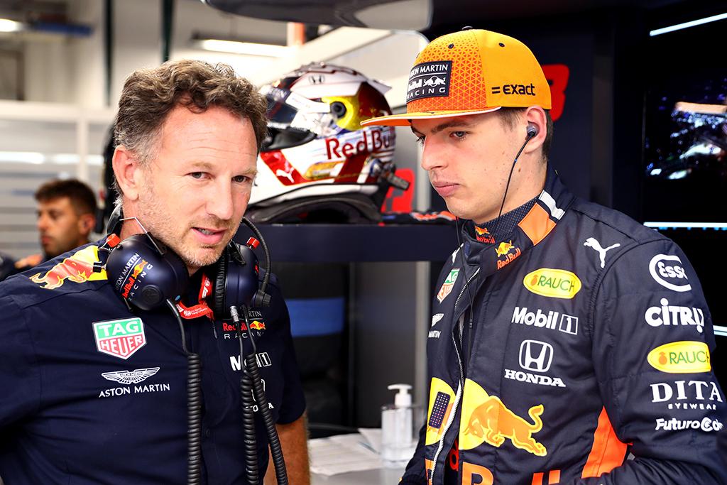 C. Horneris: Joso ir Maxo Verstappeno nuomonės skiriasi