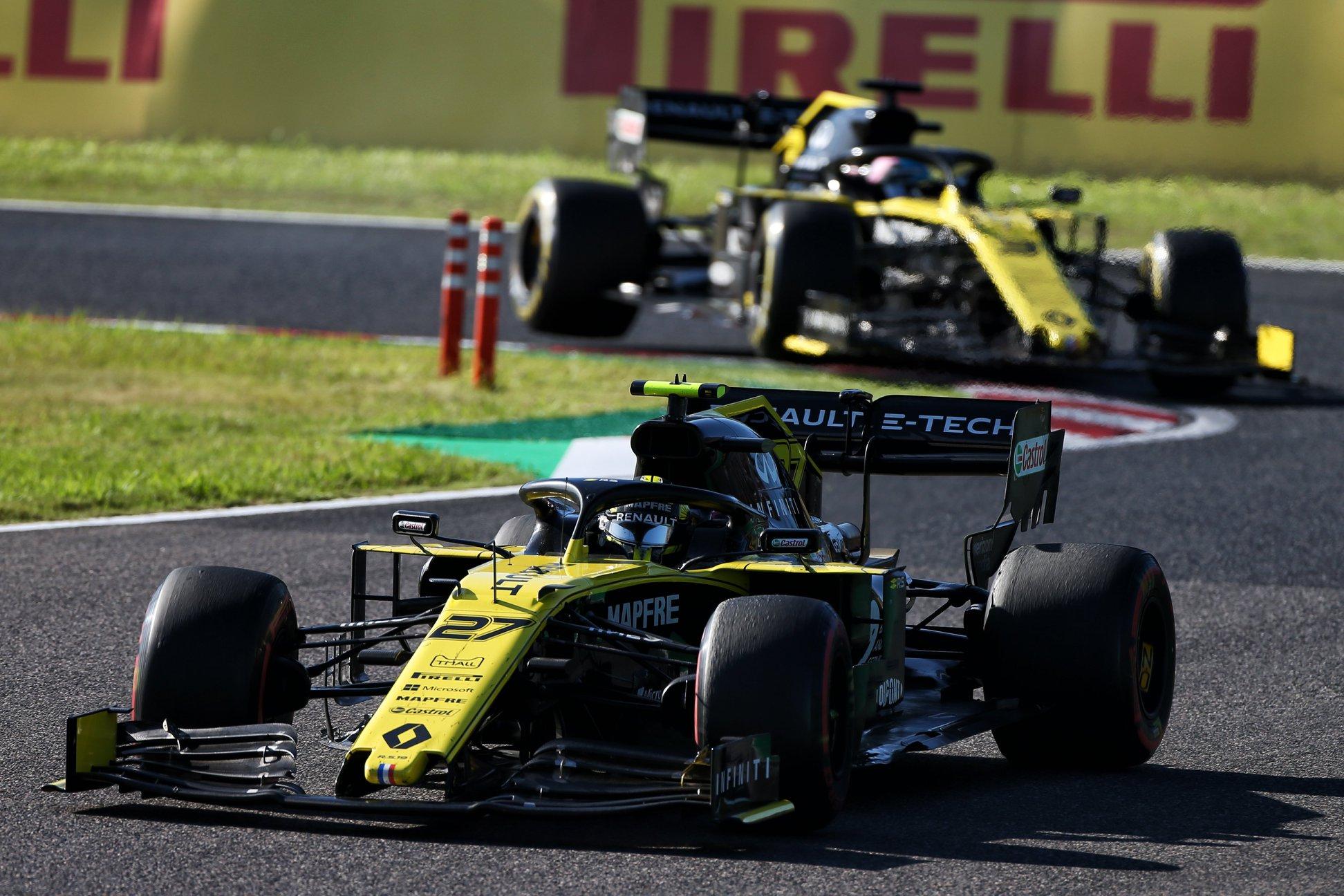 """""""Racing Point"""" pateikė protestą dėl """"Renault"""" bolidų"""