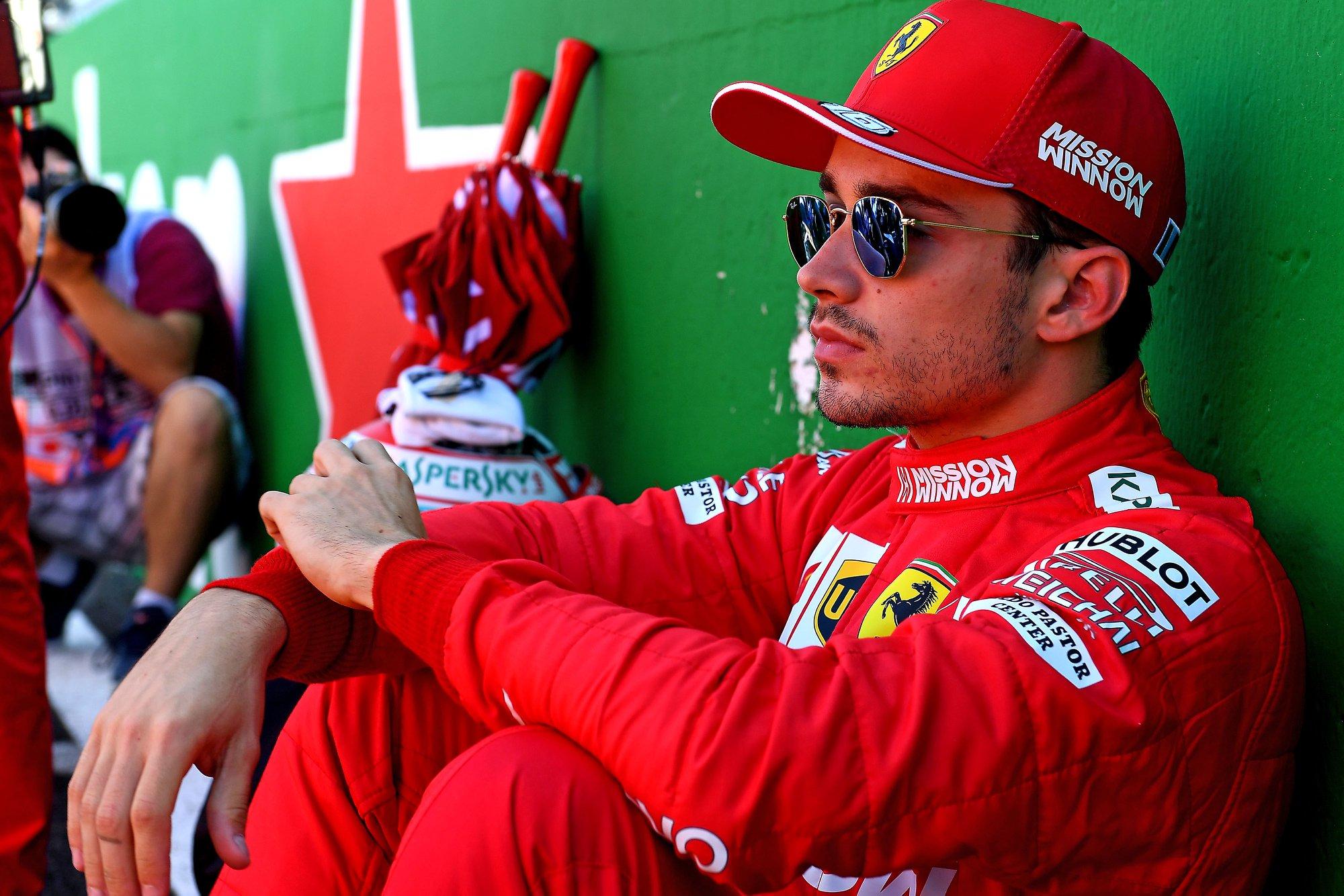 E. Irvine'as: C. Leclercas yra daug geresnis už M. Verstappeną